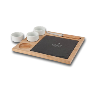 Promotional Products - Custom logo'd Sushi Slate Platter