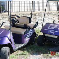 Golf Cart Full Vinyl Wrap Color Change