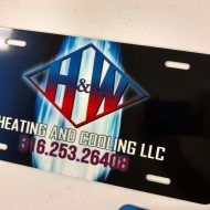 Promotional Products - Sublimated License Plate