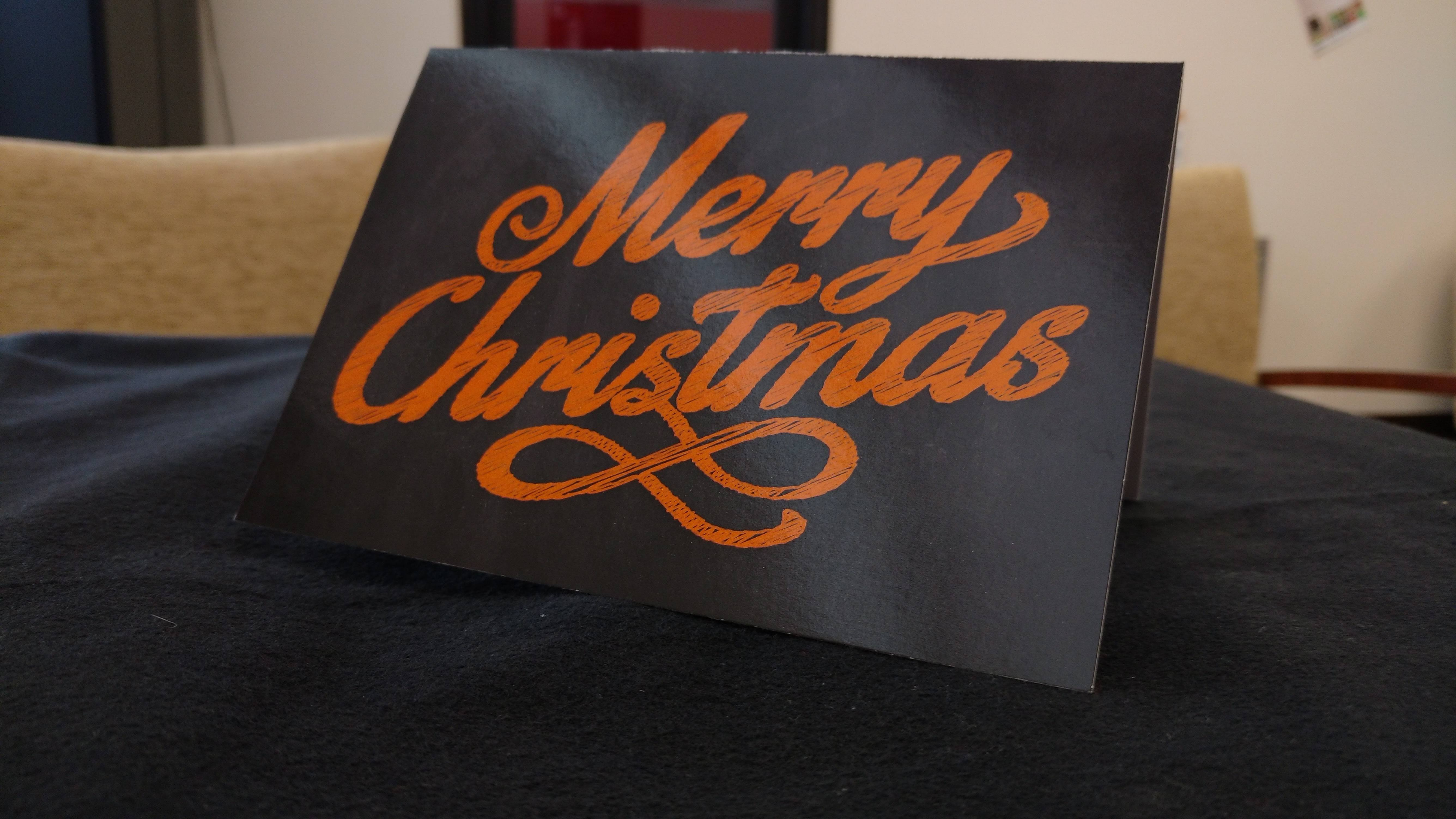 Ditch Witch Christmas Card Side B