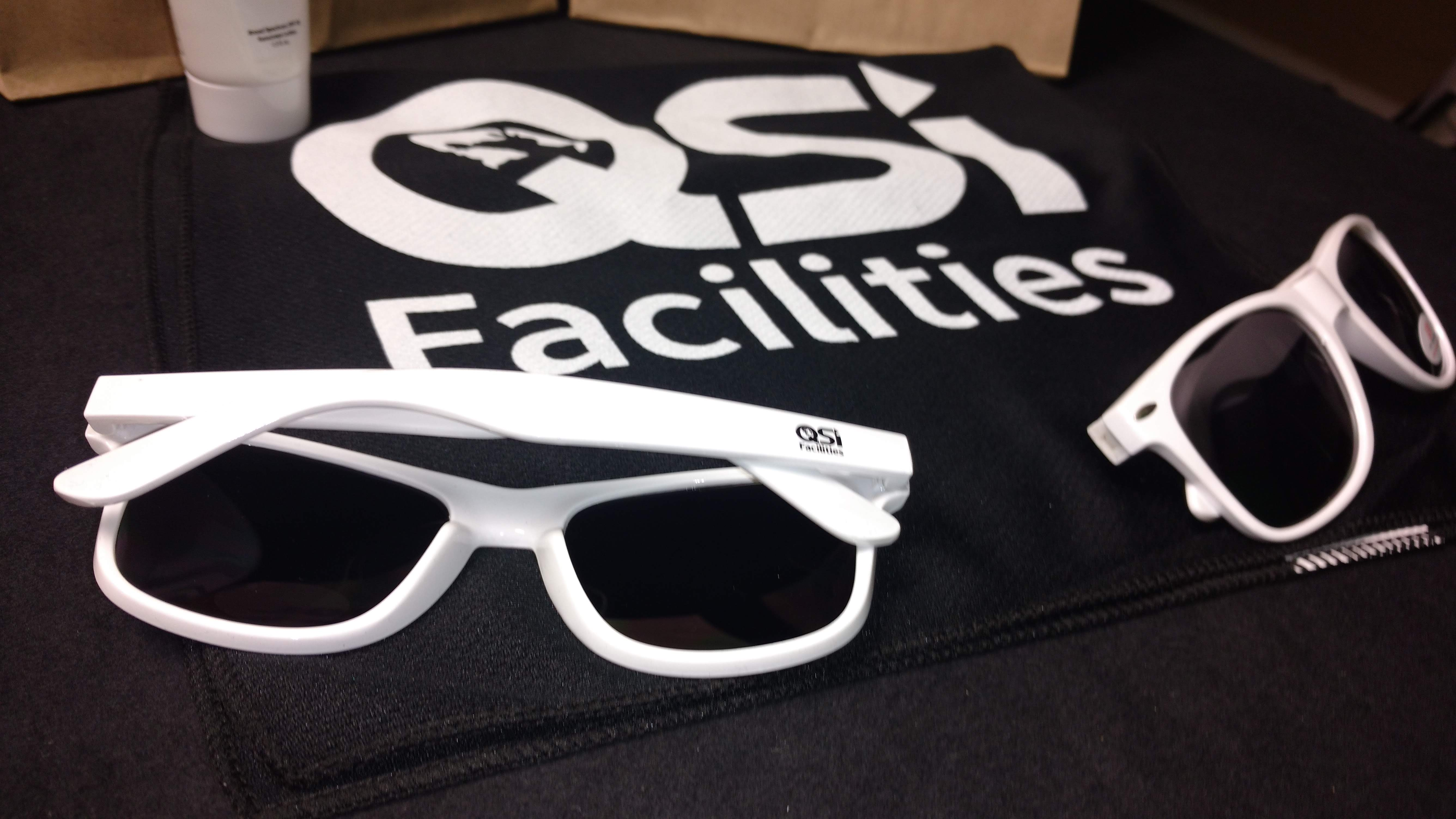 Quality Solutions Incorporated Logo'd Sun Glasses