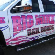 Big Mike's Bail Bonds Wichita Drivers Side Graphics