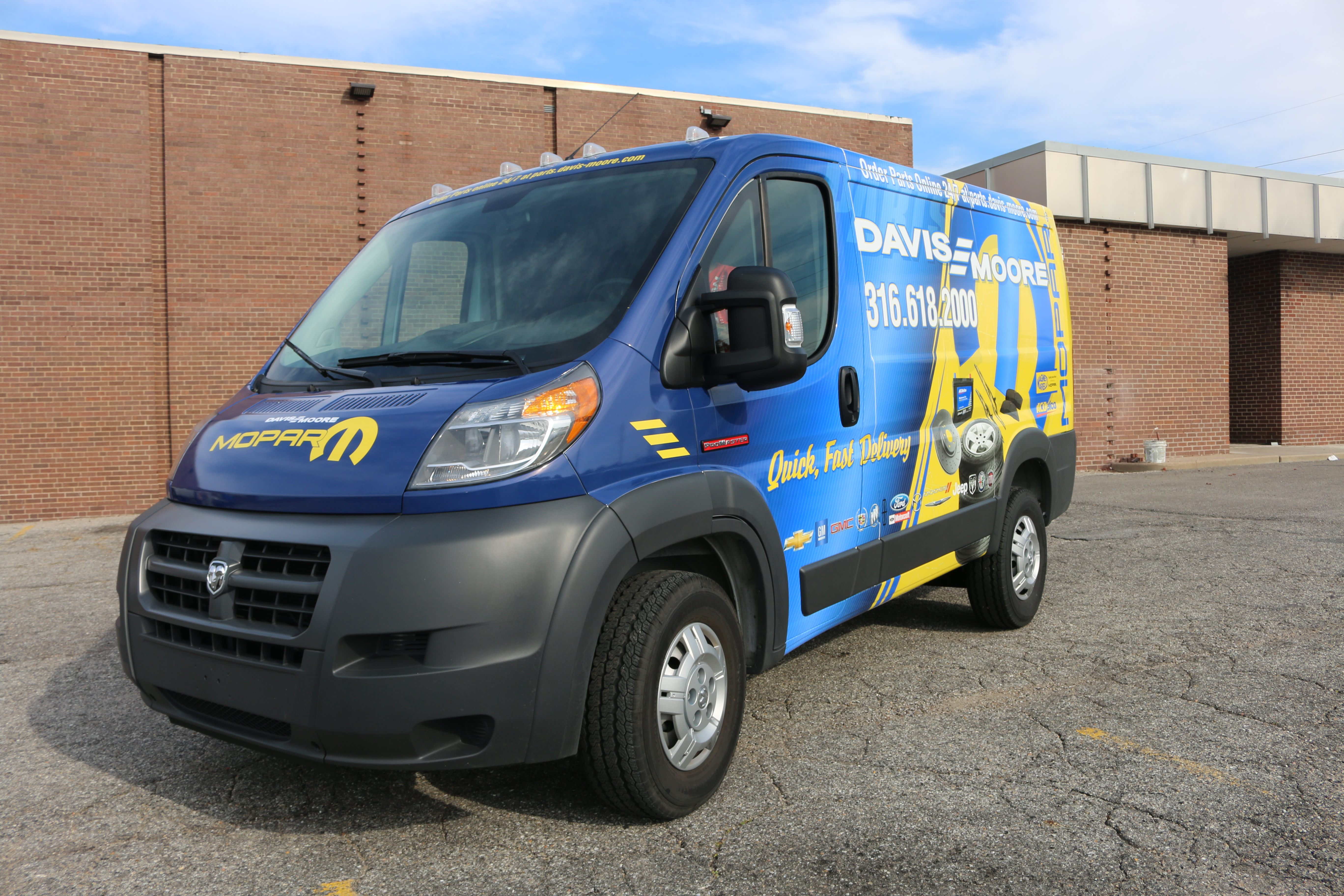 Commercial Vehicle Gallery Mightywraps A Us Logo Company