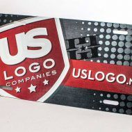 Promotional Products - Branded License Plate