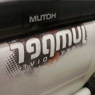 Jumper Sportswear Sublimated T-Shirts Printing on the Mutoh!