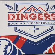Dingers Roofing Sublimated Floor Mat