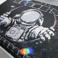 Spaceman Rest in Paradise Sublimated Floor Mat