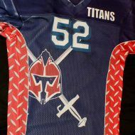 Titans Sublimated Football Jersey