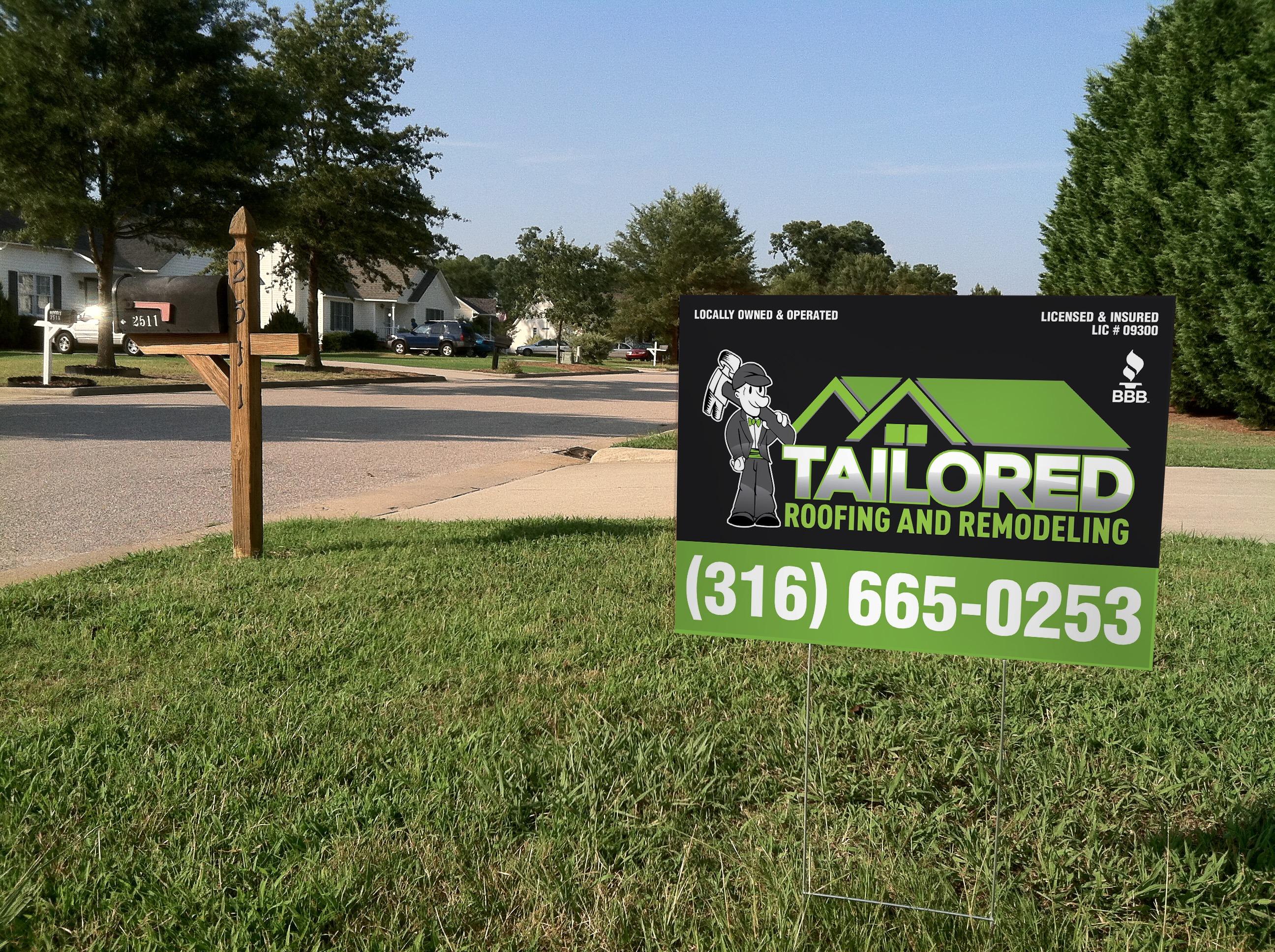 Yard Signs | US Logo, Inc. Wichita, KS | Signage - Printed ...