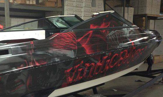 Boat Wraps Mighty Wraps A Us Logo Company