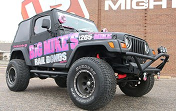 Big Mike's Bail Bonds Full Coverage Color Change Wrap