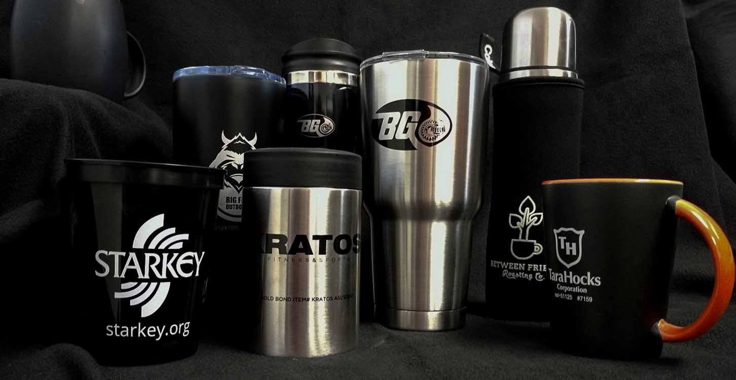 Promotional Products Like Yeti Tumblers, Promo Product Like Coffee Cups, Promo Items Like Coleman Thermos