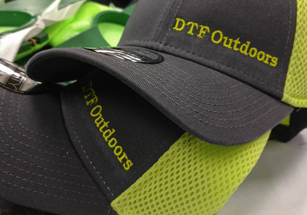 DTF Outdoors Branded Embroidery