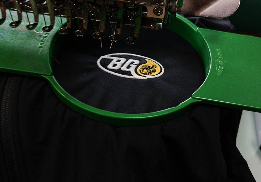 BG Products Embroidered Merchandise
