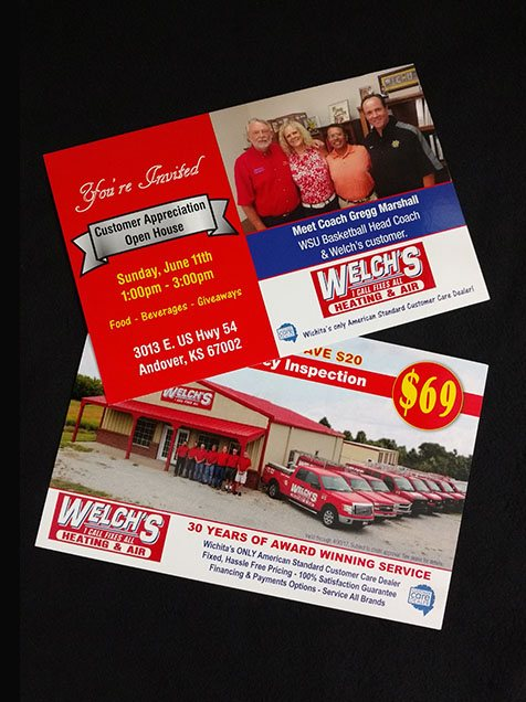 Print EDDM - Welch's Heating and Cooling - Wichita Kansas