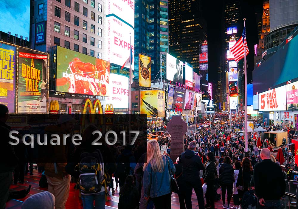 Time Square 2017 - Digital Marketing