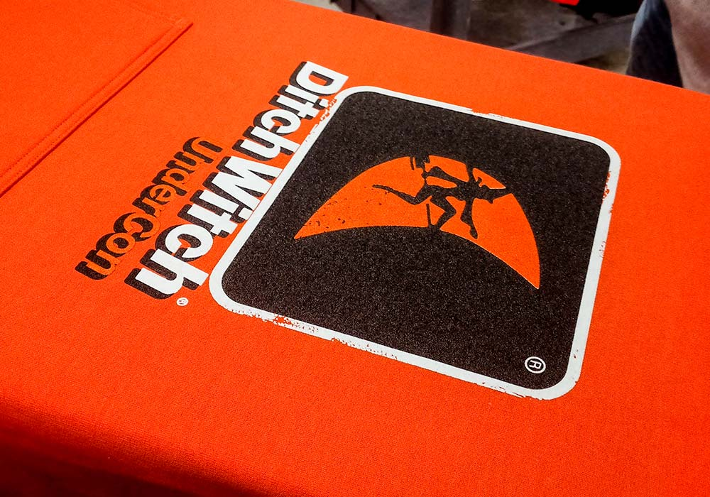 Screen Printing - Ditch Witch Undercon Screen Printed Hoodies