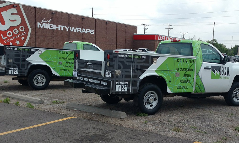 Eck Services Fleet Wraps - Top 10 Advertising Options With Vehicle Wraps