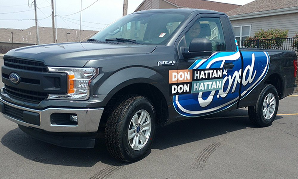 Don Don Hattan Hattan Ford F150 Spot Graphics