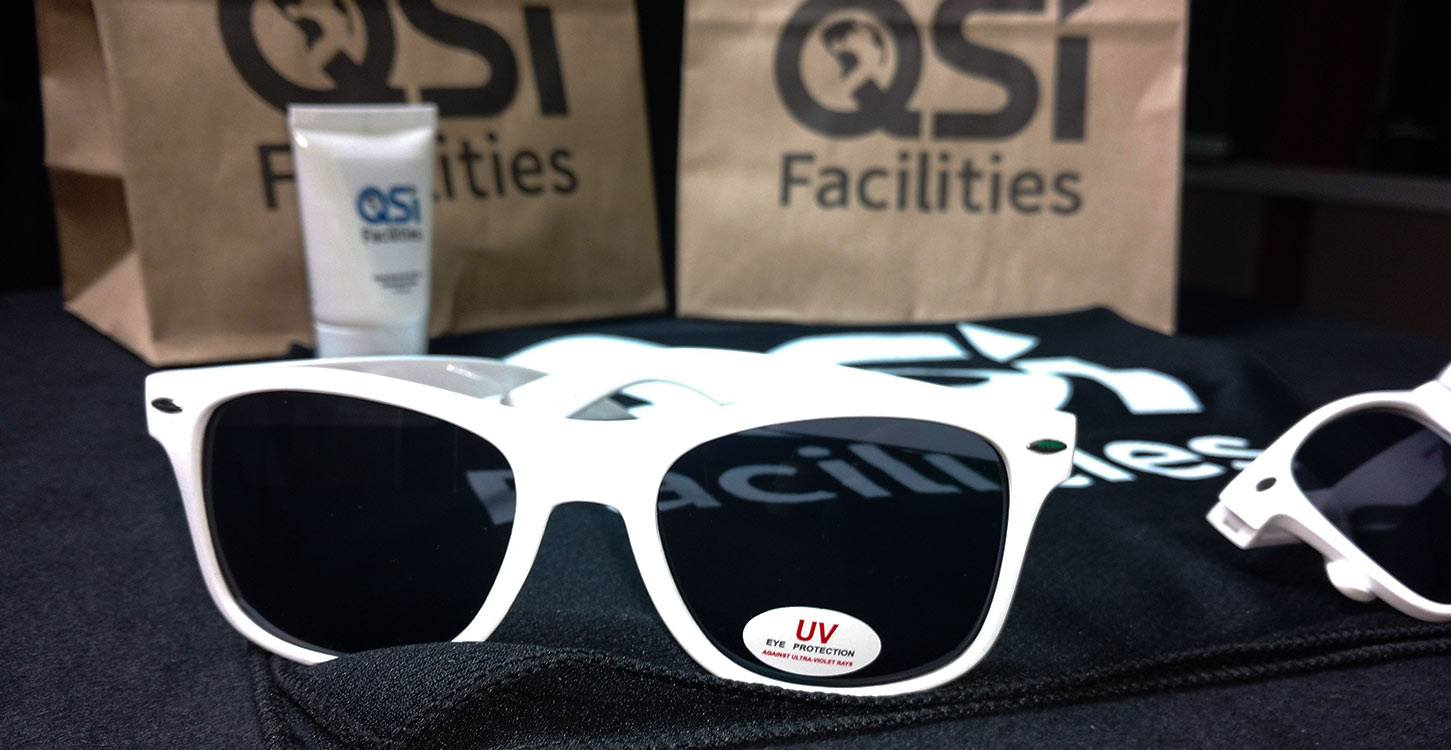 QSI Facilities Summer Themed Promotional Products