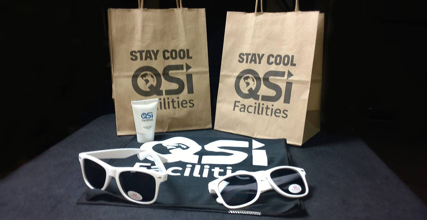 QSI Facilities Summer Themed Promo Product Set