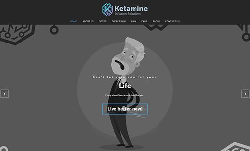 Ketamine Infusion Solutions Website
