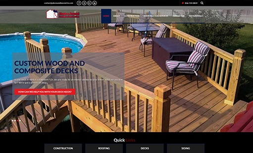Above and Beyond Roofing and Construction Websites