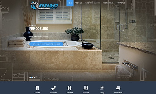 Renewed Remodeling Website