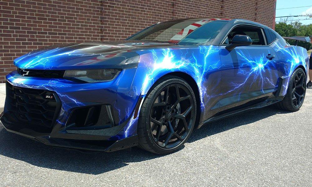 2017 ZL1 Camaro Car Wrap by MightyWraps