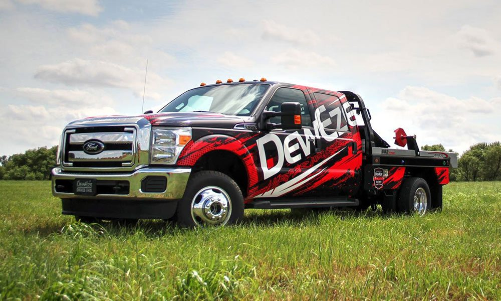 2017 Deweze Bale Bed Full Coverage Truck Wrap by MightyWraps