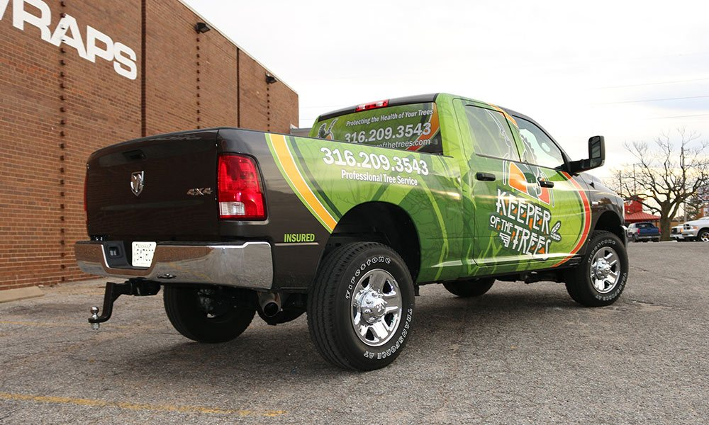 Truck Wraps There S No Better Place To Wrap Your Truck