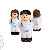 Promotional Products - Logo's medical personnel stress ball