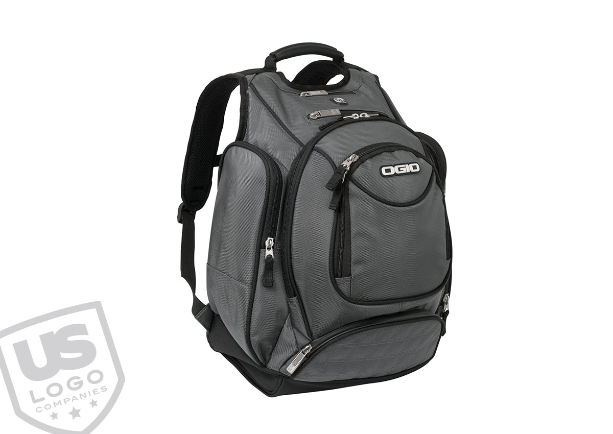 Embroidered Promotional Products like this Ogio backpack are sure to be useful to your clients and employees. Your embroidered logo will be seen wherever the backpack is worn.