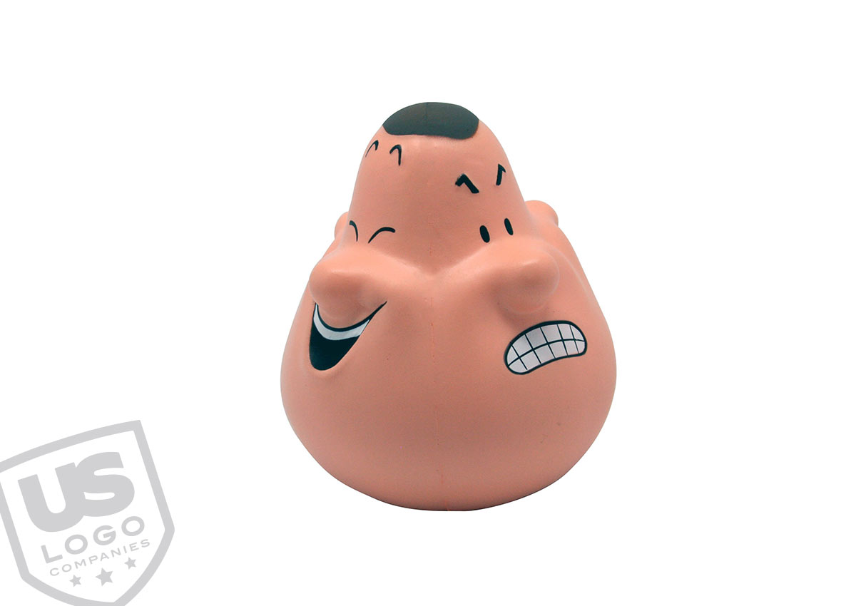 How about a promotional product for a psychologist? - Mood stress ball with many faces...