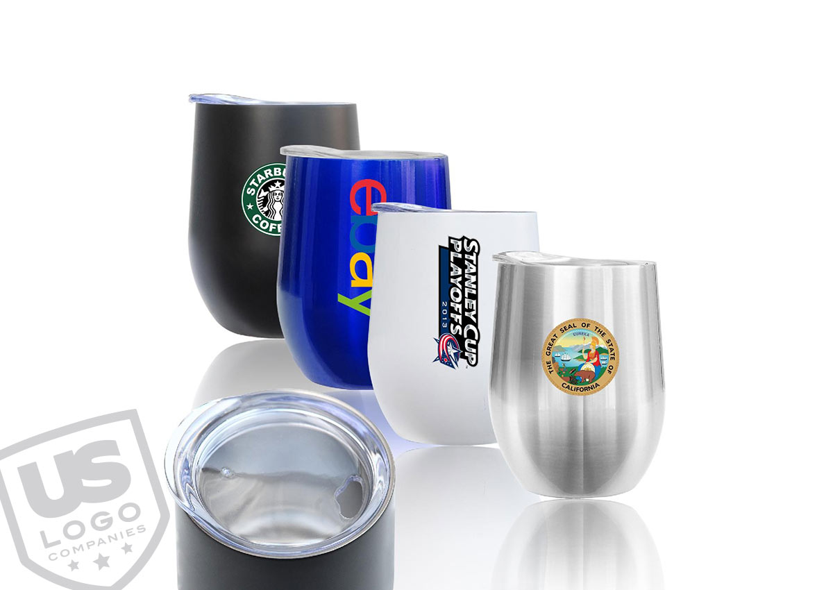 Make your customers feel loved with a stainless steel vacuum sealed desktop tumbler, that is used to promote your brand.