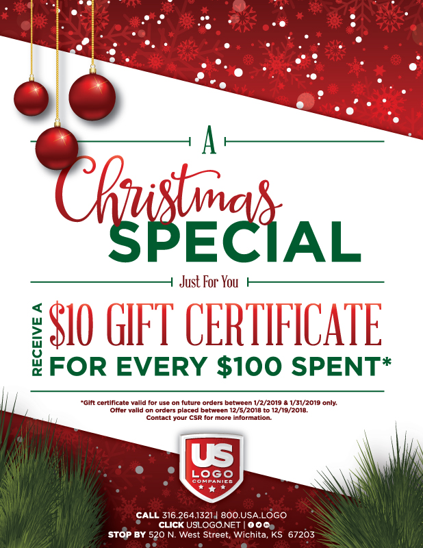 US Logo's Christmas Special - Gift Certificates