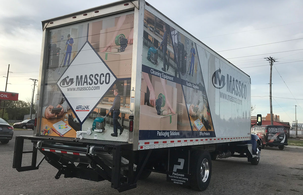 MASSCO Semi Box Truck Wrap