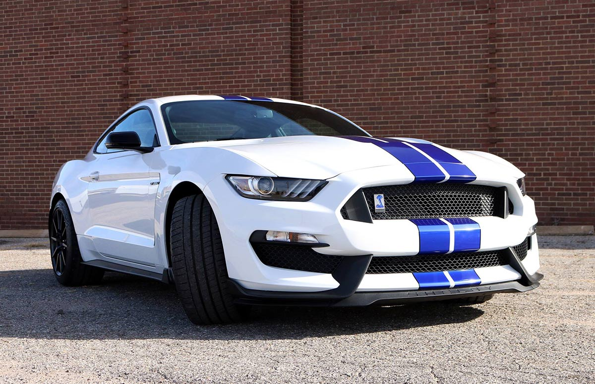 2016 Cobra 350 GT Mustang Wrap - Rally Stripes and Custom Cobra Emblems