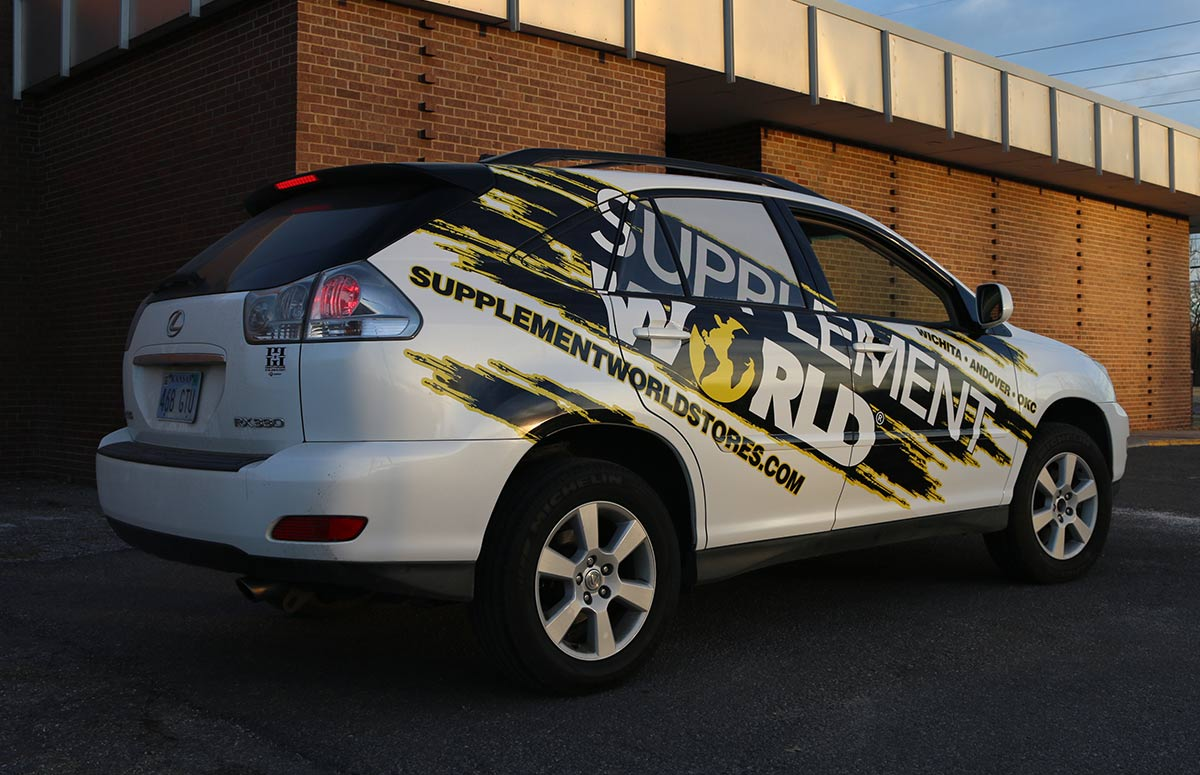Supplement World Vehicle Wrap