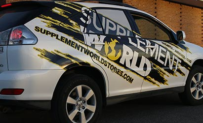 Advertising with Vehicle Wraps