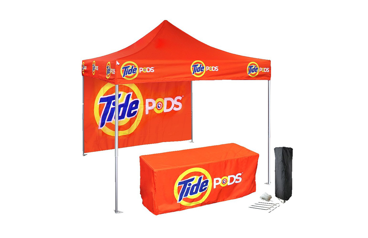 Did you know that we help businesses, nonprofits and religious organizations put together trade show booths and tents