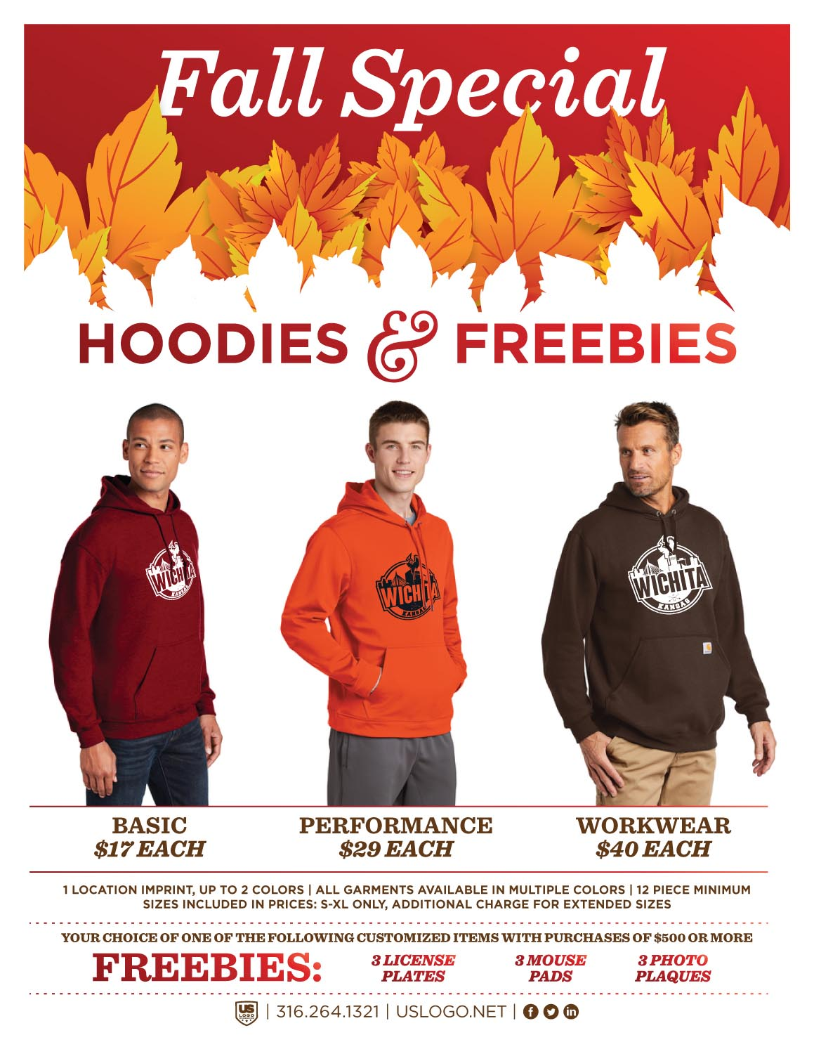 2019 Fall Hoodie Special