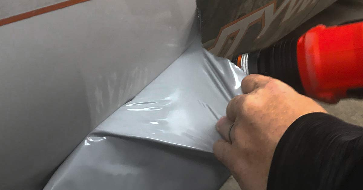 The pros and cons of wrapping vs. painting your car - Remove the vinyl graphics when it's time to sell the car