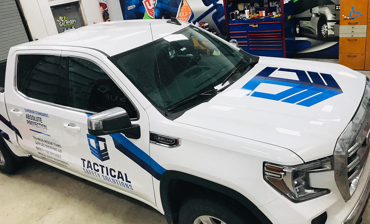 Tactical Safety Solutions Wichita KS Fleet Wraps