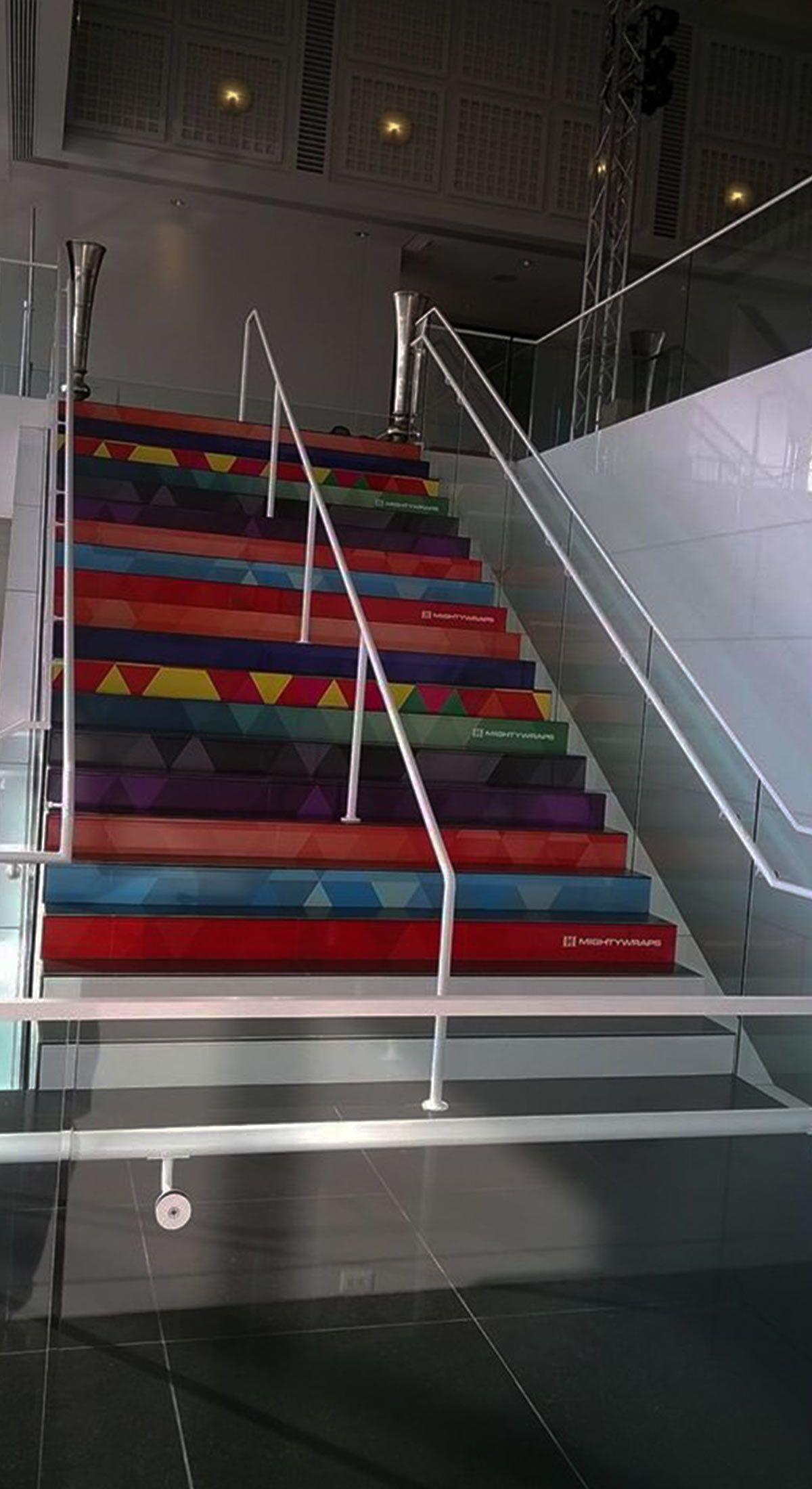 Wichita Art Museum - Staircase and Railing Wraps