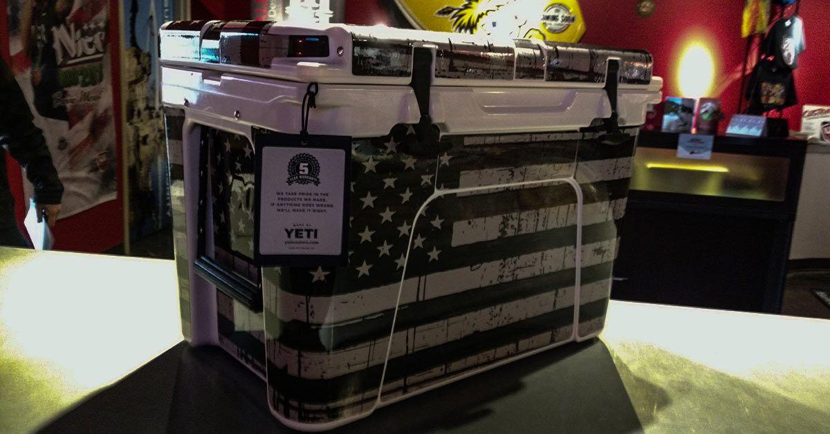 Cabinet Wraps, Cooler Wraps, and Case Wraps