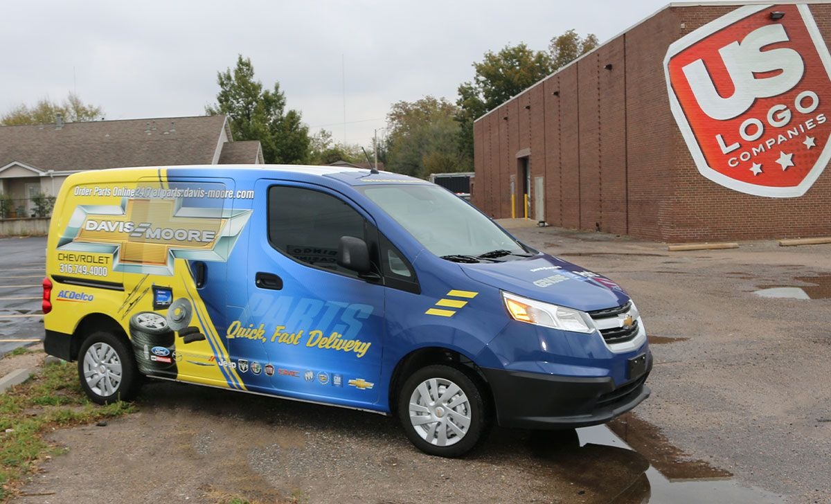 Eco Pure Water & Coffee Fleet Van Wrap