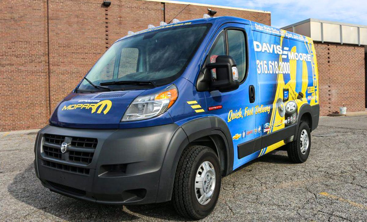 Davis Moore Sprinter Van Fleet Wraps