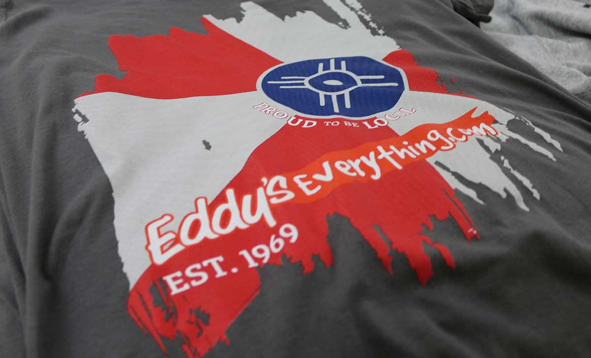 Eddy's Everything.com - 4 Color Screen Printed T-Shirts