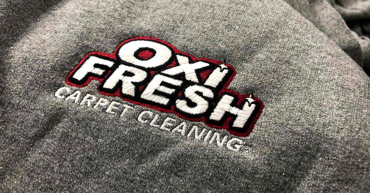 OXY Fresh Carpet Cleaning Branded Embroidery